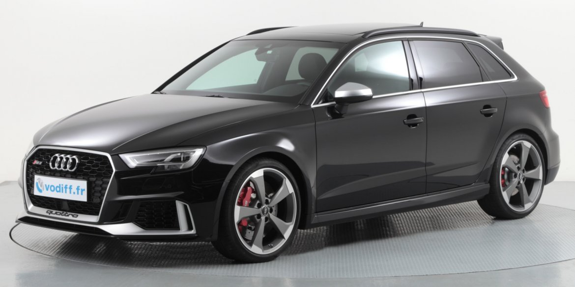 audi rs3 sportback d 39 occasion en alsace. Black Bedroom Furniture Sets. Home Design Ideas
