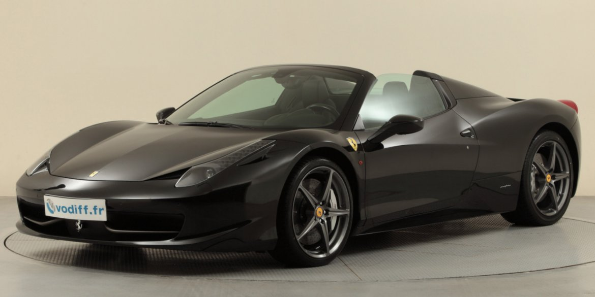 ferrari 458 spider d 39 occasion en alsace. Black Bedroom Furniture Sets. Home Design Ideas