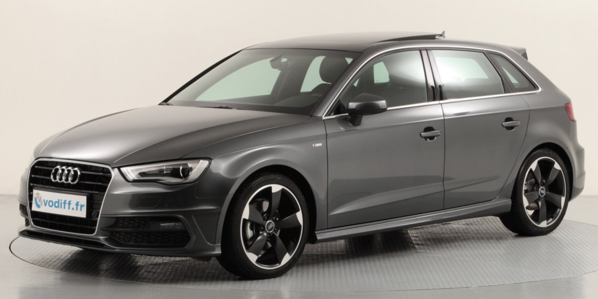 audi a3 sportback 2 0 tdi 150 cv s line s tronic occasion. Black Bedroom Furniture Sets. Home Design Ideas