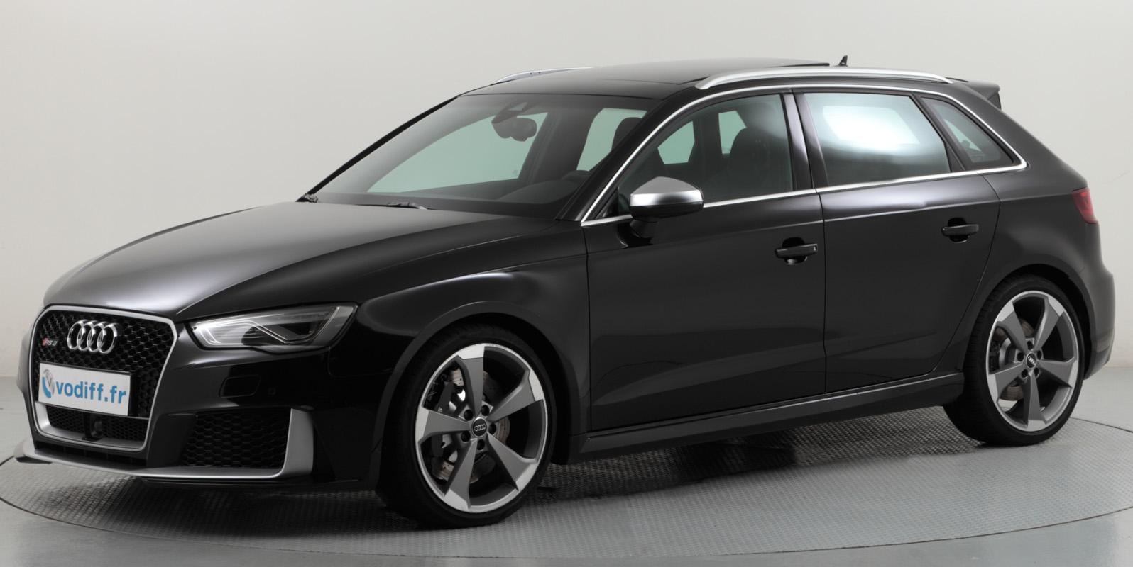 audi rs3 sportback nouveau modele 2 5 tfsi quattro 367 cv s tronic neuf 72 600 euros mod 2016. Black Bedroom Furniture Sets. Home Design Ideas